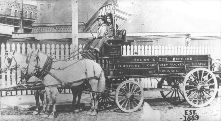 Brown Moving Storage 1889