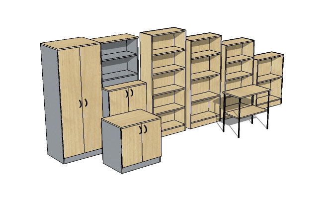 Bookcases and Storage